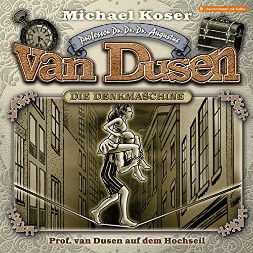Professor van Dusen auf dem Hochseil cover art