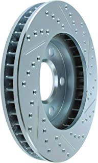 StopTech 126.62057SR Sport Slotted Brake Rotor; Front Right