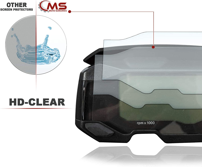2 St/ück Displayschutzfolie Tacho Schutzfolie geeignet f/ür BMW G310GS 2x Ultra Clear