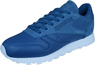 Reebok Classic Leather Sea You Later Womens Trainers/Shoes - Blue