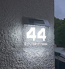 Beleuchtete LED Solar