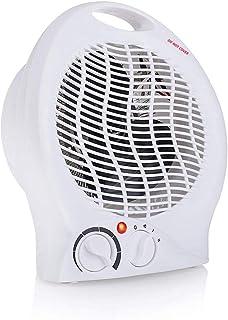 WHBQ Calefactor Ventilador Función Silence Exquisito Portátil 2 Modos De contra Viento Protección contra Sobrecalentamiento Conveniente para Oficina Hogar