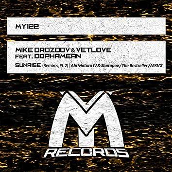 Sunrise: Remixes, Pt. 2