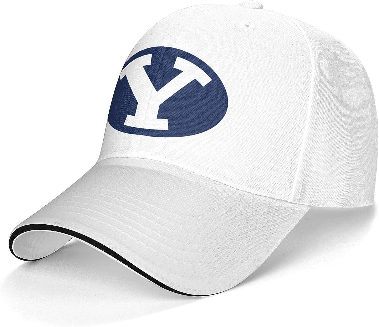 Mens&Womens BYU Cougars Snapback Hats caps for Baseball, Basketball, Football Gray