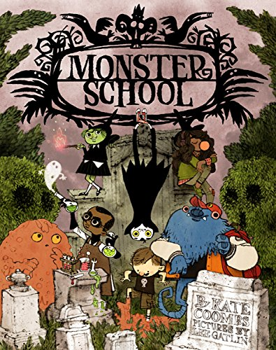 Image of Monster School: (Poetry Rhyming Books for Children, Poems about Kids, Spooky Books)