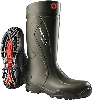 Ejendals Dunlop 760933 Purofort Bottes de travail Taille 46 Vert/Noir