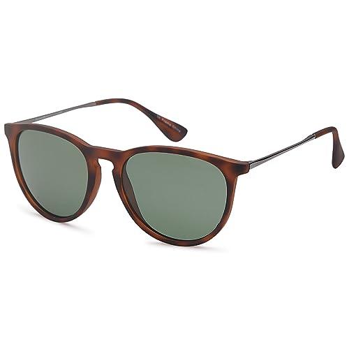 bd880e9835 GAMMA RAY Polarized UV400 Vintage Retro Round Sunglasses