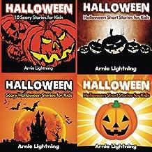 Halloween Book Bundle (4 Books in 1): Scary Stories for Kids and Halloween Jokes (Spooky Halloween Stories) (Volume 1)