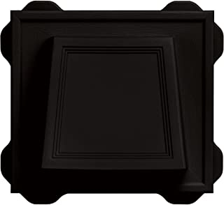 Builders Edge 140116774002 Vent, Black