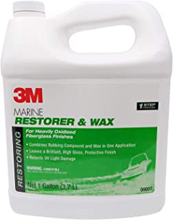 3M Marine Fiberglass Restorer & Wax Gallon Liquid Trade;