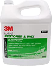 3M Marine Fiberglass Restorer & Wax Gallon Liquid Trade;