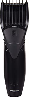 Panasonic ER207WK24B Corded/Cordless Rechargeable Trimmer with Quick Adjust Dial(Black)