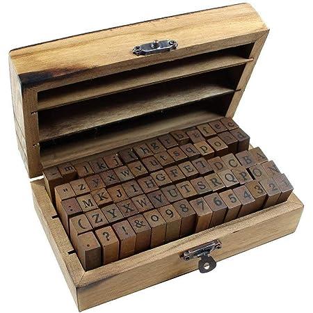 Bullet Journal Number Rubber Stamp Scrapbooking Stamp\u00a0 Planner Stamp\u00a0 Wood Stamp Set\u00a0 Midori Traveler\u2019s Notebook