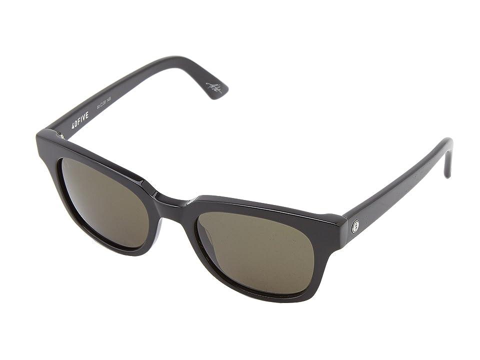 Electric Eyewear 40Five (Gloss Black/M Grey) Sport Sunglasses