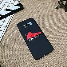 1 piece fashion 3D AIR Jordan Shoes phone cover case for Samsung galaxy S6 S7 edge s8 s9 plus note 8 9 soft silicone coque fundas capa