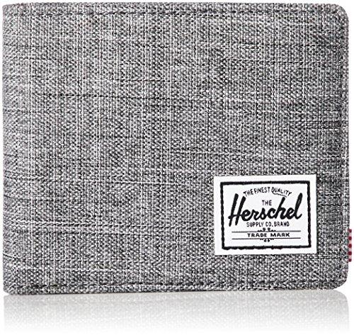 Herschel Roy Coin Unisex Geldbörse Grau