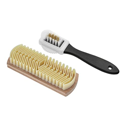 Handy Adjustable Dance Shoes Cleaning Brushes for Footwear Wood Suede Sole