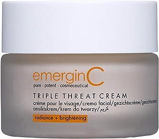 emerginC Triple-Threat Cream - Moisturizer with Retinol + Glycolic Acid for Uneven Skin Tone (1.6 oz, 50 ml)