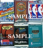 200 Vintage NBA Basketball Cards in Old Sealed Wax Packs - Perfect for New Collectors