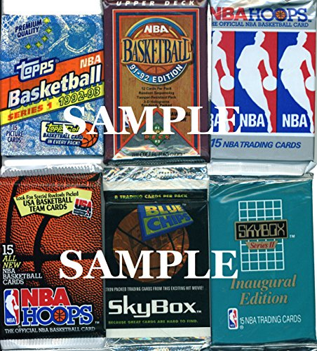 200 Vintage NBA Basketball Cards in…
