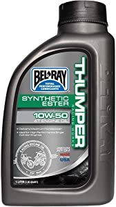 Bel-Ray Thumper Racing Works Full Synthetic Ester 4T Engine Oil - 10W50-1L. 99550-B1LW (1)