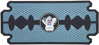 【Cadeau d'avril】Coussin d'outils de coiffeur en PU, silicone Geal PU anti-dérapant Pad outils Coussin Barber Shop accessoi...