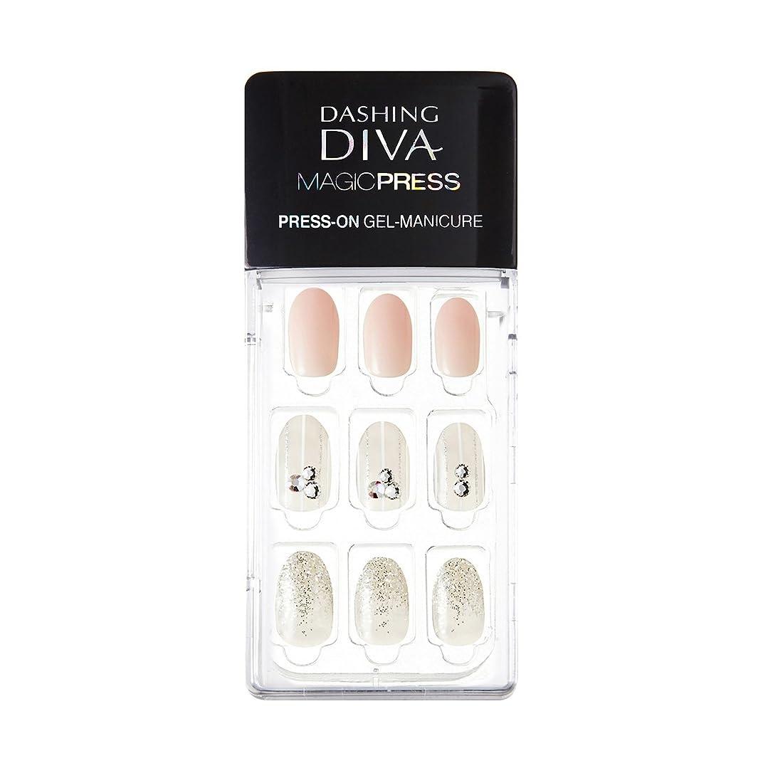 ジャーナル胸うつダッシングディバ マジックプレス DASHING DIVA MagicPress MJP_008-DURY+ オリジナルジェル ネイルチップ