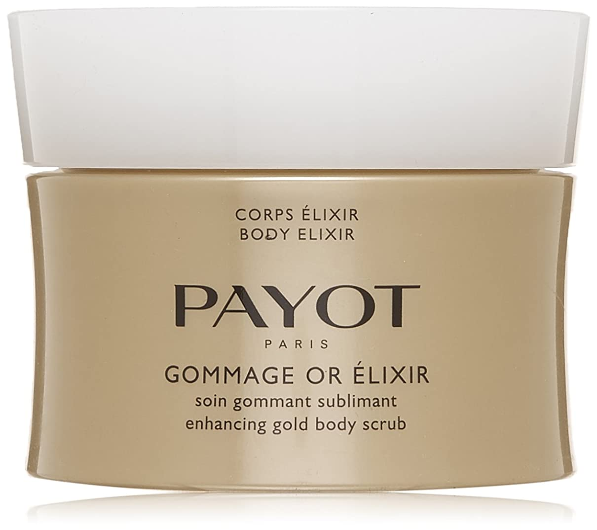 誤ポータブル広告主パイヨ Body Elixir Gommage Or Elixir Enhancing Gold Body Scrub 200ml