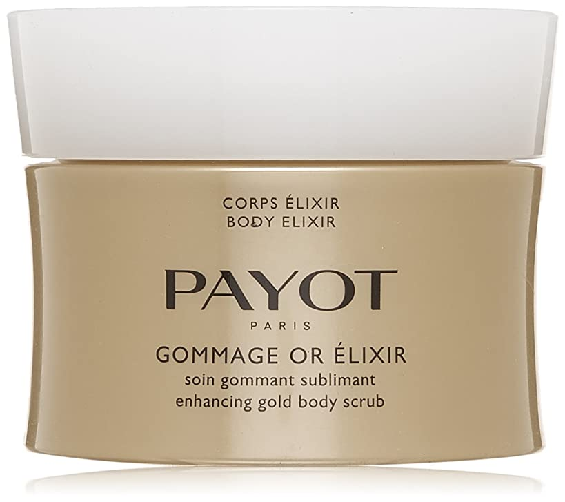 交じる医学フラスコパイヨ Body Elixir Gommage Or Elixir Enhancing Gold Body Scrub 200ml