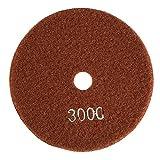 5pulgadas/125mm Disco de Pulido de Diamante Húmedo Almohadilla de Pulido de Diamante Pulidora para Mármol de Granito Piedra de Hormigón(3000)