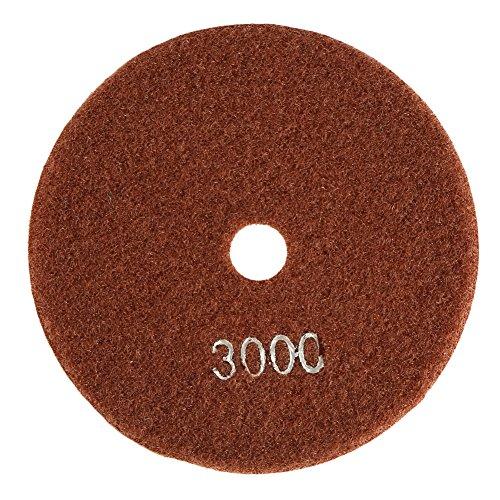 5pulgadas/125mm Disco Pulido Diamante Húmedo Almohadilla