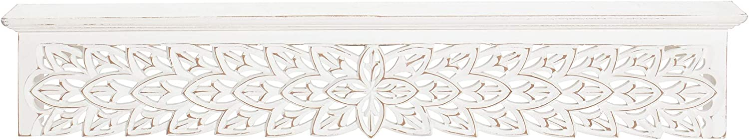 Fetco Gaudin price White Shelf Sales of SALE items from new works 30-in. Decorative