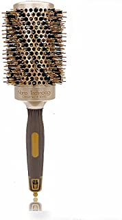 Scalp Massage Comb Nylon Gold Curls Roll Combing Hair Portable Commuter Modeling Dating Travel Men Women Health