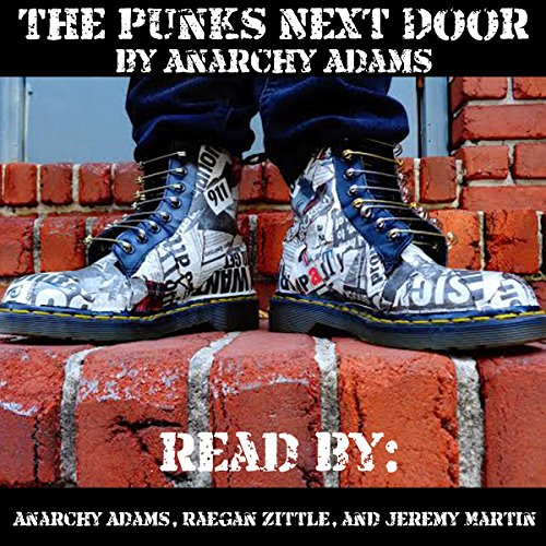 The Punks Next Door audiobook cover art