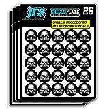 Skull and Crossbones Helmet Award Decals - Football, Baseball, Hockey, Lacrosse Stickers