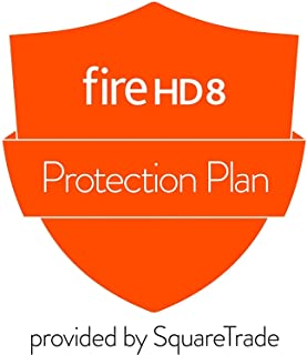 3-Year Protection Plan plus Accident Protection for Fire HD 8 Tablet (2018 release, delivered via e-mail)
