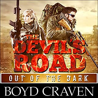 The Devil's Road: Out of the Dark audiobook cover art