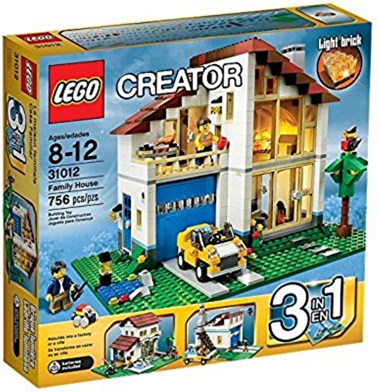 LEGO Creator 31012 - Großes Einfamilienhaus B00B06IJRO  Charakteristisch     | Exquisite (mittlere) Verarbeitung