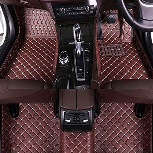 Alfombrillas De Coche Para Hyundai Elantra 2003-2007(RHD), Cuero El Alfombra Auto Cobertura Completa Esteras Moqueta Antideslizantes Forro Coche Moquetas ProteccióN Accesorios