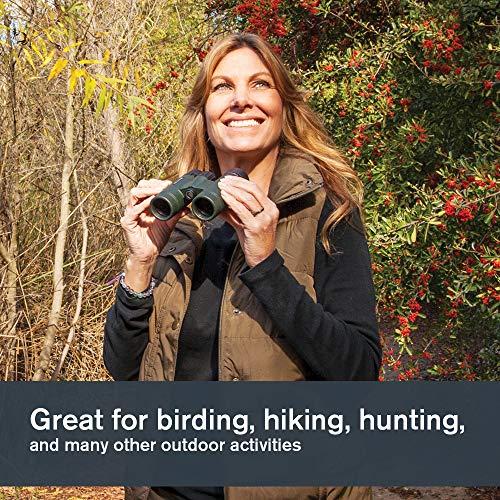 Celestron 71332 Nature DX 8x42 BaK-4 Prism Binoculars, Green