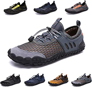 zhenghewyh Water Shoes Mens Womens Barefoot Beach Shoes Quick Dry Aqua Shoes Swim Shoes for Pool Surf Diving Fishing Outdoor Water Sports Driving