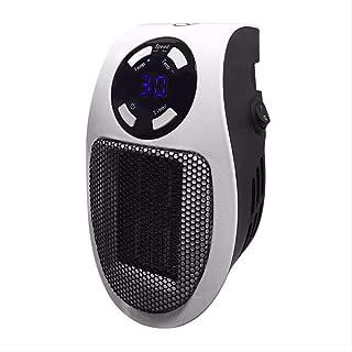 YXYXX Timing Led Mini Calefactor Eléctrico,Los Hogares con el Control Remoto Calentadores,la Protección Térmica/Como se muestra / 500W