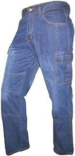 Juicy Trendz Men's Motorbike Sports Cargo Jeans Aramid Protection Lining