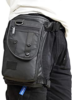 Outdoor Thigh Drop Leg Bag for Men Waist Fanny Pack Motorcycle Ride Crossbody Shoulder Riding Travel Hiking Tactical Cycling