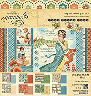 Best graphic 45 home sweet home paper Reviews