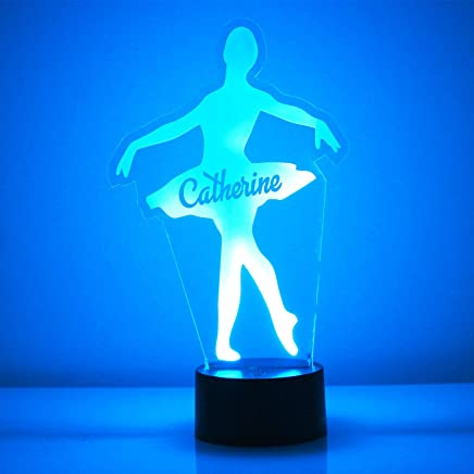San Jose Handmade Acrylic Personalized Sharks Hockey Player LED Night Light Remote 16 Color Option Engraved Great Personalized Gift