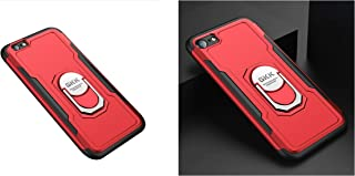 iPhone 6 / iPhone 6S Armor Case Mobile Cover From GKK - Red Cover + 1 Red Cover