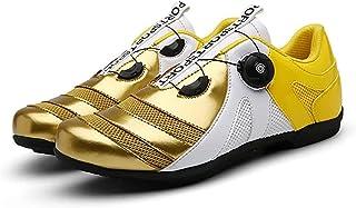 WYUKN Fietsschoenen mannen vrouwen anti-slip ademende fietsschoenen road schoenen MTB schoenen plat zonder klik systeem, G...