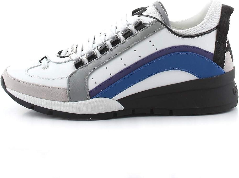 Dsquared2, sneakers da uomo,in pelle SNM008501502574M1463