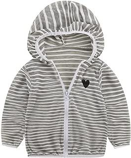 Baby Coats, Kids Girls Boys Summer Sunscreen Jackets Hooded Outerwear